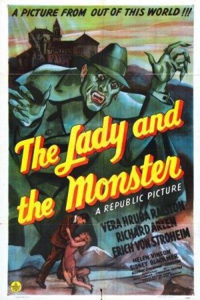 Caratula, cartel, poster o portada de La mujer y el monstruo