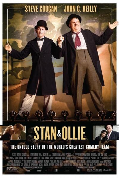Caratula, cartel, poster o portada de El Gordo y el Flaco (Stan & Ollie)