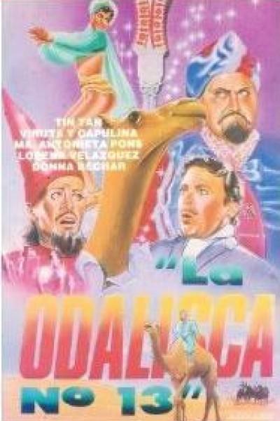 Caratula, cartel, poster o portada de La odalisca No. 13