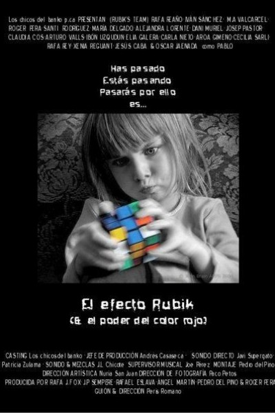 Caratula, cartel, poster o portada de El efecto Rubik (& el poder del color rojo)