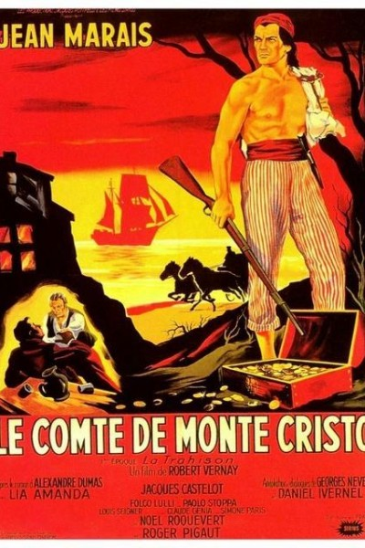 Caratula, cartel, poster o portada de Las aventuras de Edmundo Dantes