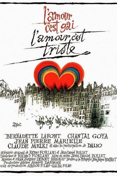 Caratula, cartel, poster o portada de El amor alegre, el amor triste