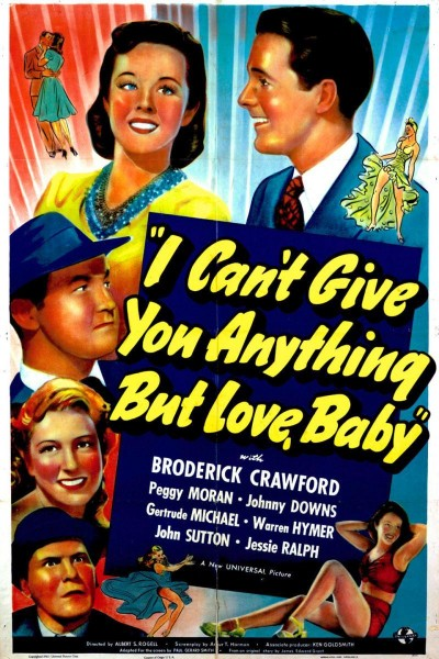 Caratula, cartel, poster o portada de I Can\'t Give You Anything But Love, Baby