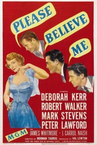 Caratula, cartel, poster o portada de Please Believe Me
