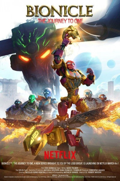Caratula, cartel, poster o portada de LEGO Bionicle: The Journey to One