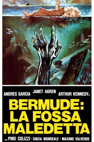 Caratula, cartel, poster o portada de Bermudas: la cueva de los tiburones