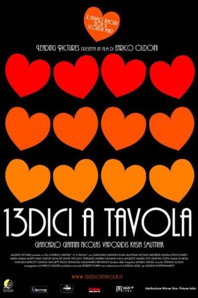 Caratula, cartel, poster o portada de 13 a la mesa