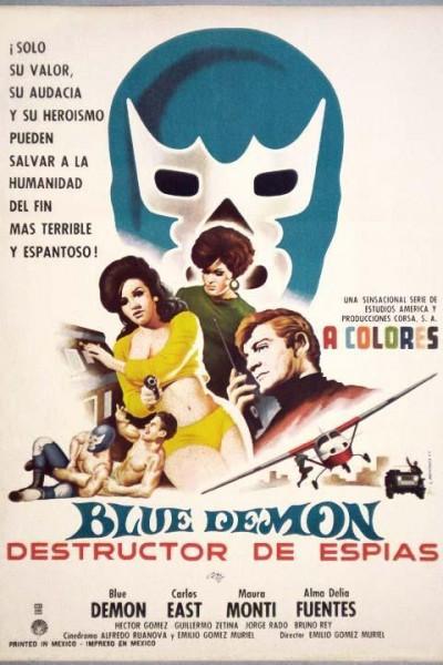 Caratula, cartel, poster o portada de Blue Demon destructor de espías