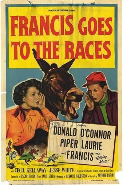 Caratula, cartel, poster o portada de Francis en las carreras