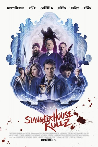 Caratula, cartel, poster o portada de Las reglas de Slaughterhouse