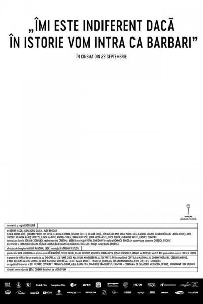 Caratula, cartel, poster o portada de I Do Not Care If We Go Down in History as Barbarians