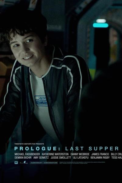 Caratula, cartel, poster o portada de Alien: Covenant - Prólogo: The Crossing