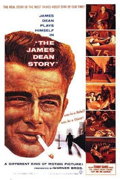 Caratula, cartel, poster o portada de The James Dean Story