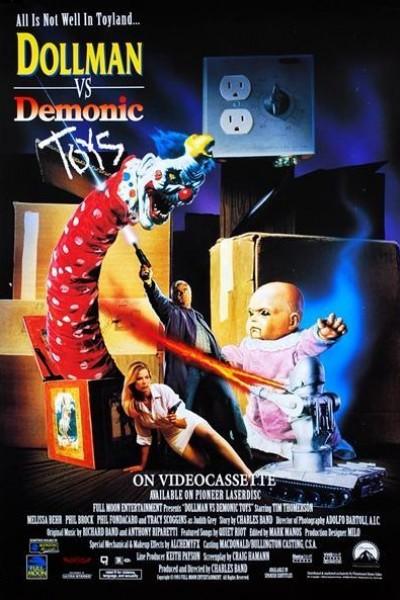 Caratula, cartel, poster o portada de Dollman vs. Demonic Toys