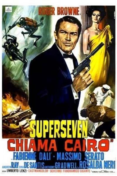 Caratula, cartel, poster o portada de Supersiete llama al Cairo