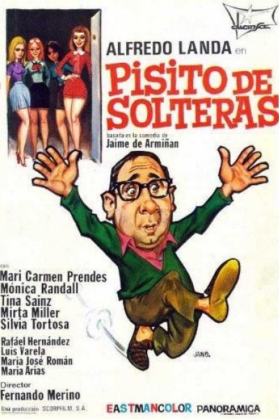 Caratula, cartel, poster o portada de Pisito de solteras