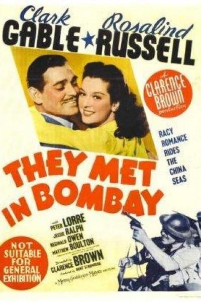 Caratula, cartel, poster o portada de Entre ladrones anda el amor (Aventura en Bombay)