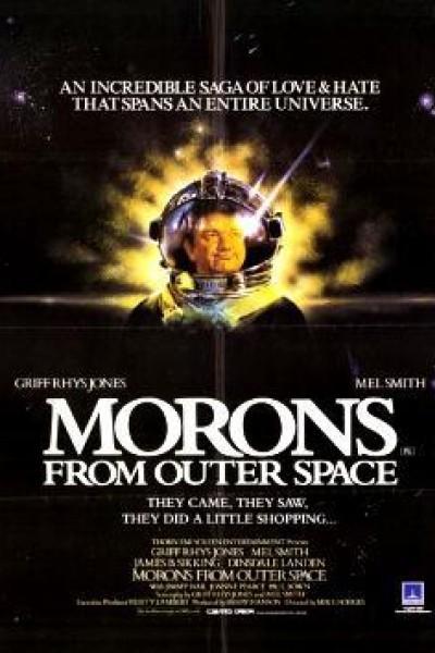 Caratula, cartel, poster o portada de Los locos del planeta Blob (Ineptos interplanetarios)