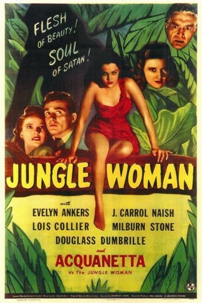 Caratula, cartel, poster o portada de Jungle Woman