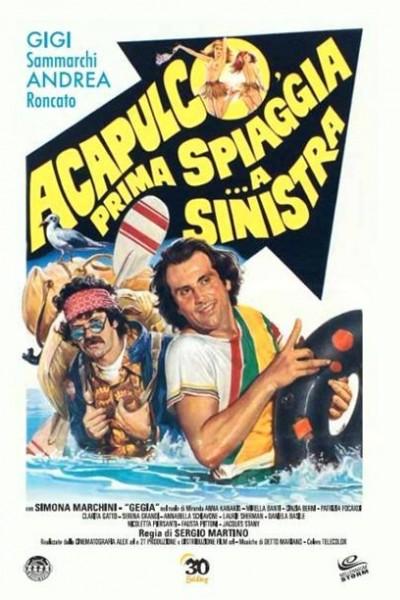 Caratula, cartel, poster o portada de Acapulco, prima spiaggia... a sinistra