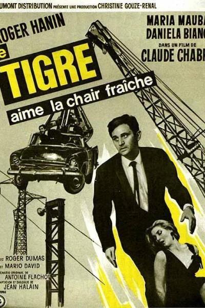 Caratula, cartel, poster o portada de El Tigre