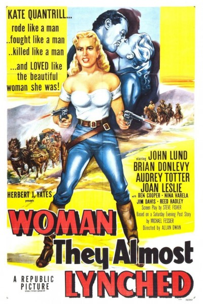 Caratula, cartel, poster o portada de Woman They Almost Lynched