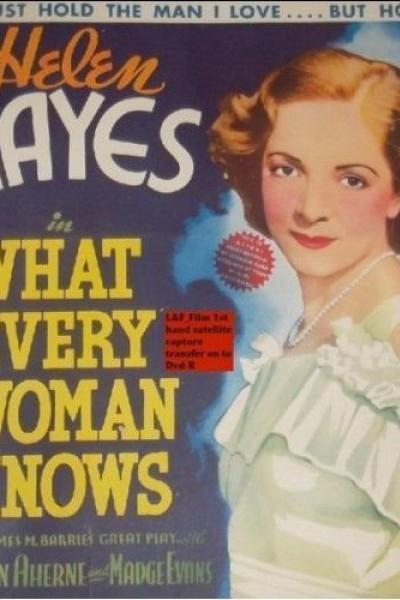 Caratula, cartel, poster o portada de What Every Woman Knows