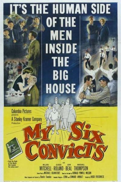 Caratula, cartel, poster o portada de My Six Convicts