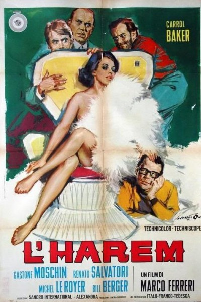 Caratula, cartel, poster o portada de L\'harem