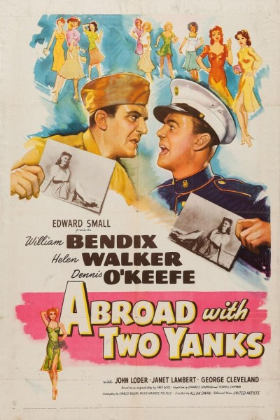 Caratula, cartel, poster o portada de Abroad with Two Yanks