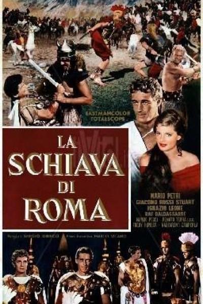 Caratula, cartel, poster o portada de La esclava de Roma