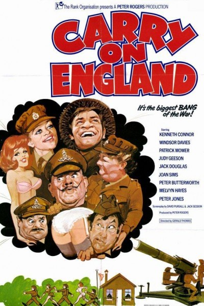 Caratula, cartel, poster o portada de Carry On England