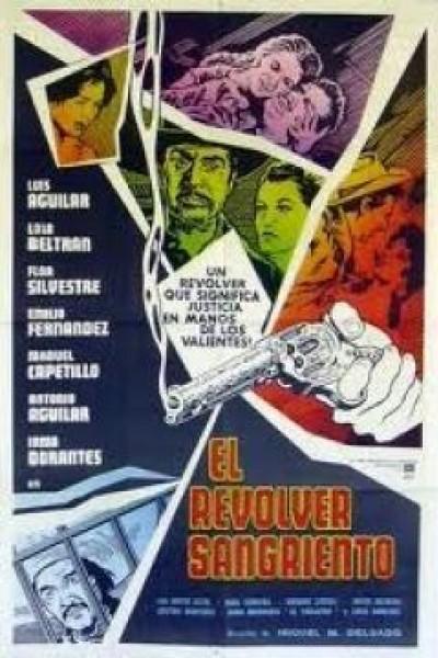 Caratula, cartel, poster o portada de El revólver sangriento