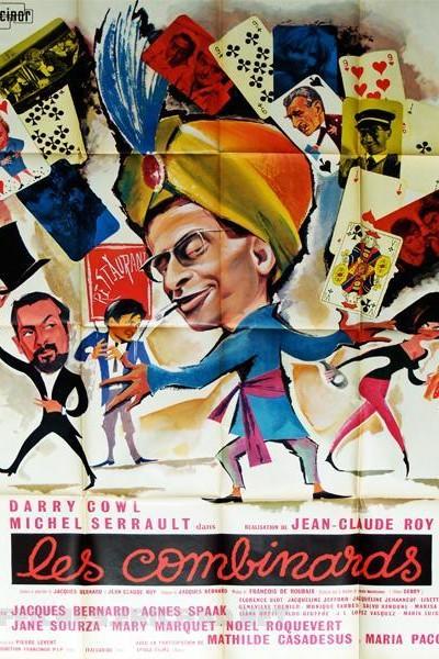 Caratula, cartel, poster o portada de Les combinards