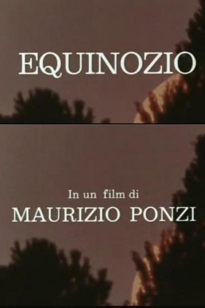Caratula, cartel, poster o portada de Equinozio