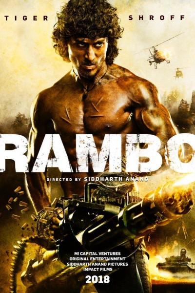 Caratula, cartel, poster o portada de Rambo