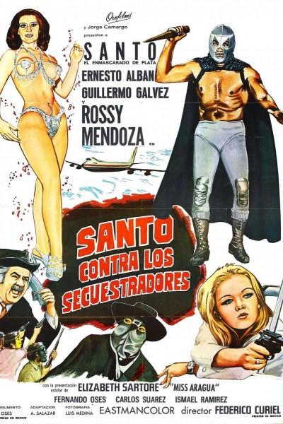Caratula, cartel, poster o portada de Santo contra los secuestradores