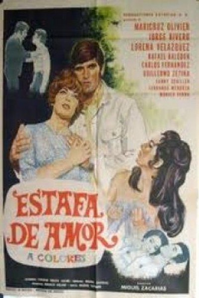 Caratula, cartel, poster o portada de Estafa de amor