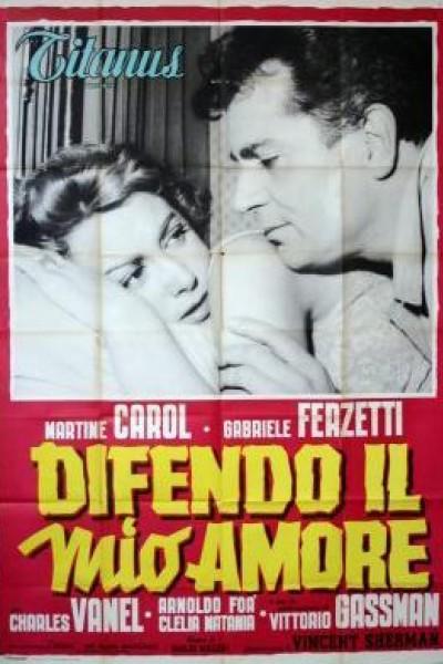 Caratula, cartel, poster o portada de Escándalo en Milán