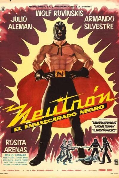 Caratula, cartel, poster o portada de Neutrón el enmascarado negro