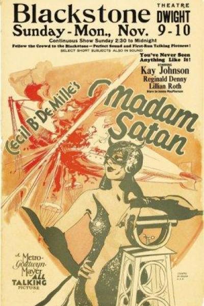 Caratula, cartel, poster o portada de Madame Satán