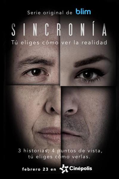 Caratula, cartel, poster o portada de Sincronía