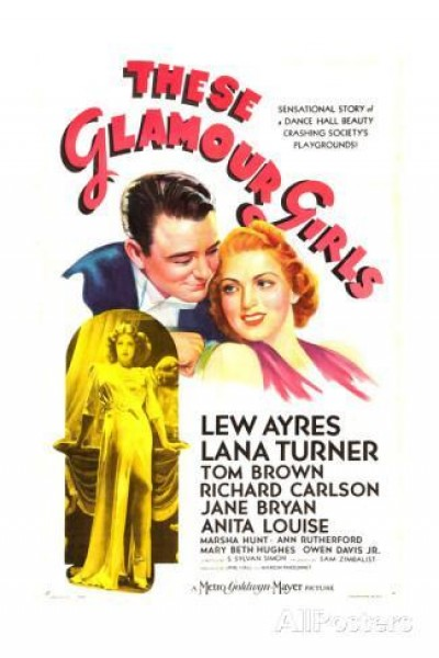 Caratula, cartel, poster o portada de These Glamour Girls