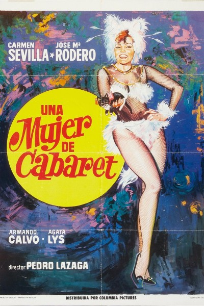 Caratula, cartel, poster o portada de Una mujer de cabaret