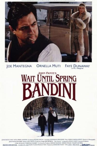 Caratula, cartel, poster o portada de Espera la primavera, Bandini