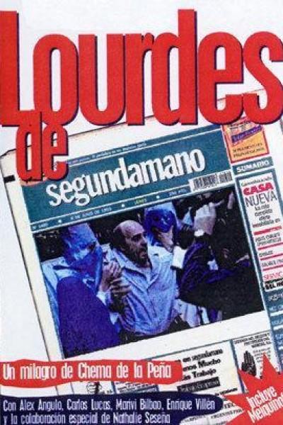 Caratula, cartel, poster o portada de Lourdes de segunda mano