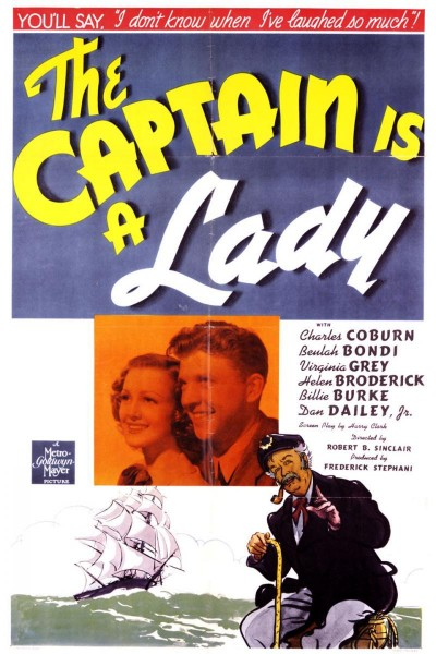 Caratula, cartel, poster o portada de The Captain Is a Lady