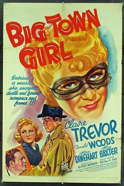 Caratula, cartel, poster o portada de Big Town Girl