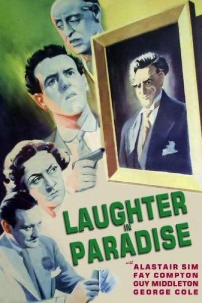 Caratula, cartel, poster o portada de Risa en el paraíso