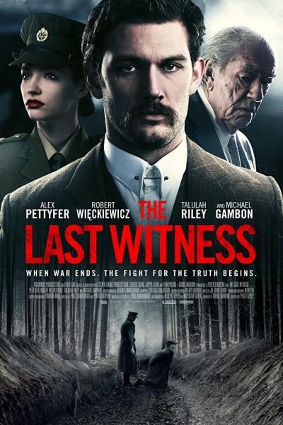 Caratula, cartel, poster o portada de El último testigo